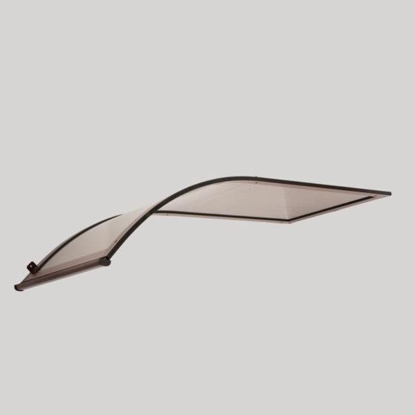 Jednostranná oblouková stříška