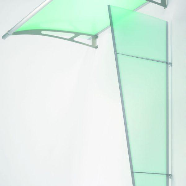 Boční stěna 1670x850x550 saténově zelená