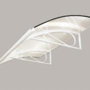 Markýzová stříška RETRO bílá